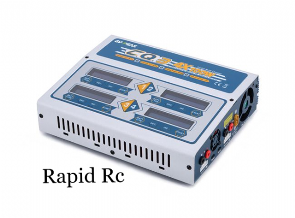 EV-Peak AC 110/220V Input 1-6S 4x 100W Balance Charger CQ3 | Latest firmware, support high voltage cell
